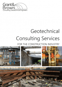 Grant & Brown Consulting Geotechnical Engineers Capability Statement